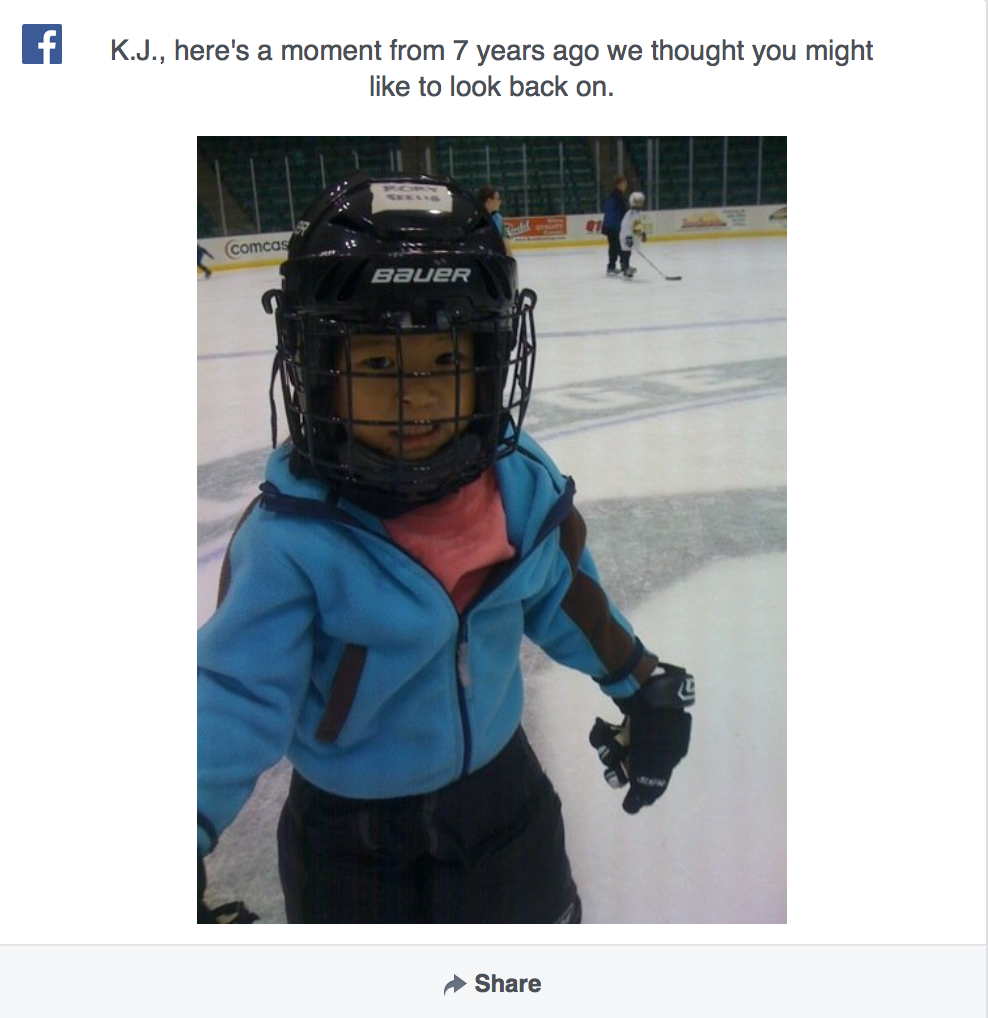 Shouldn't FB Be Showing Me My Crap Memories, Too?