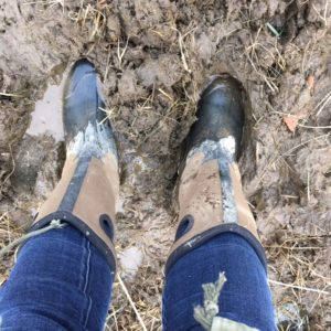 It's the slog through the mud that matters. Especially if it isn't mud.
