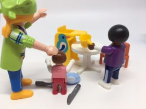 toy toddler not doing chore