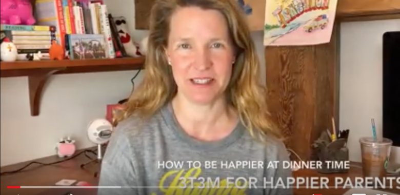 How to be a happier parent at dinner time