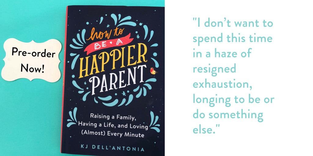 Pre-order How to Be a Happier Parent turquoise Twitter